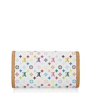 Louis Vuitton Bags - Louis Vuitton Porte Internal Multicolor White Long